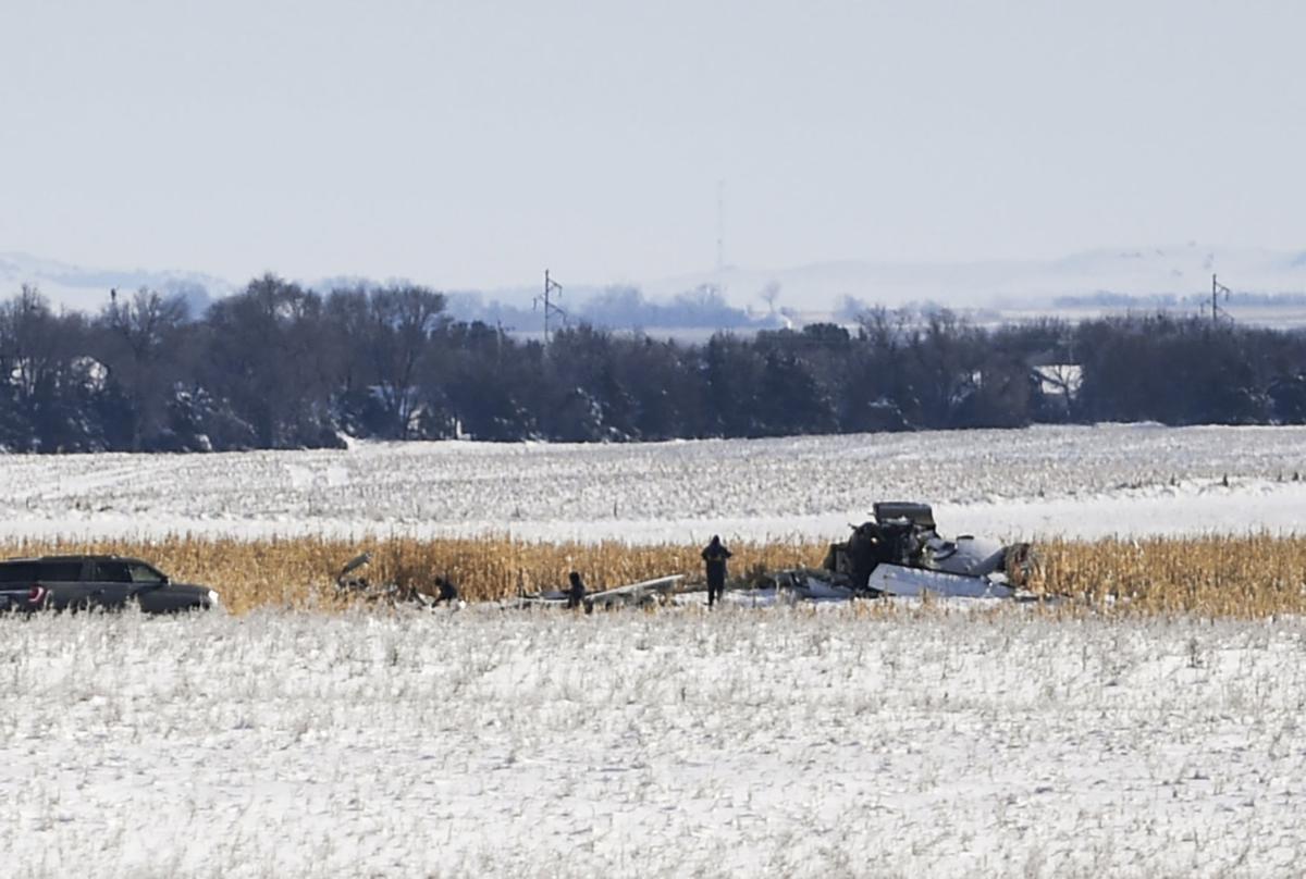 APTOPIX Plane Crash South Dakota