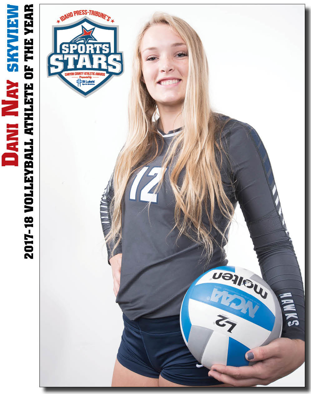 Volleyball Athlete Of The Year Dani Nay Skyview High School Sports Coverage Idahopress Com