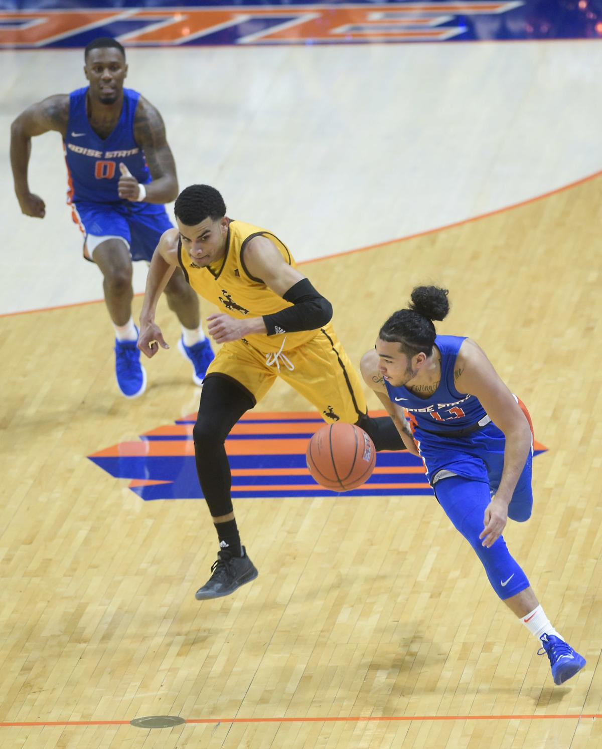Boise State vs Wyoming Basketball