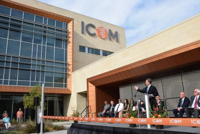 ICOM ribbon cutting (copy)