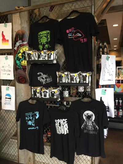 Spacebar t-shirts