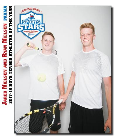 BOYS TENNIS ATHLETES OF THE YEAR: Ryan and Jared Nielsen, Parma