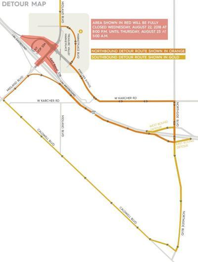 Update Closure Of Karcher Interchange Off Ramp Postponed Local