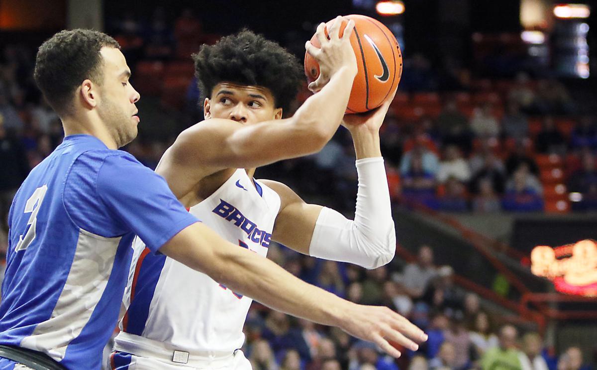 BSU vs Air Force men's basketball
