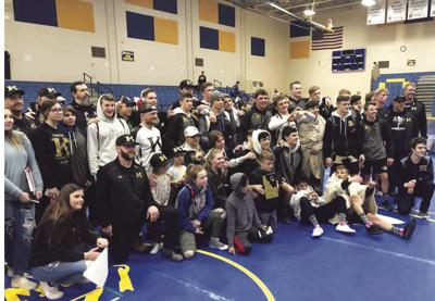 Kuna wrestling claims 4A District III Champions title