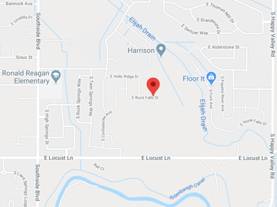 Google Map Hubble Homes location