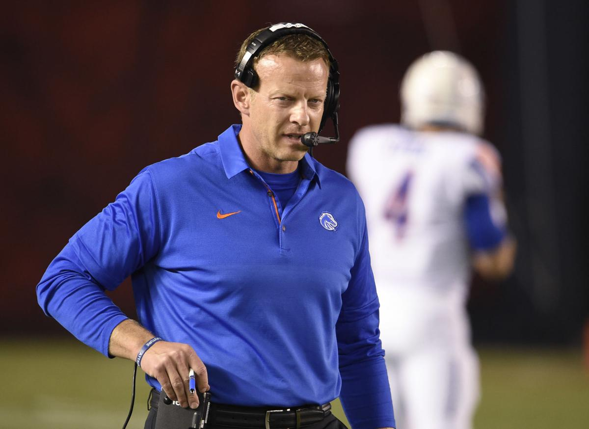 sale online picked up autumn shoes Difficult travel back from San Diego has Boise State coach ...
