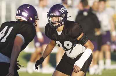 College of Idaho football (Tanner Leaf)