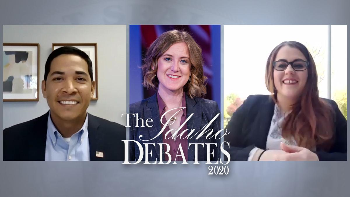 Democratic candidates for US House seat appear on the Idaho Debates