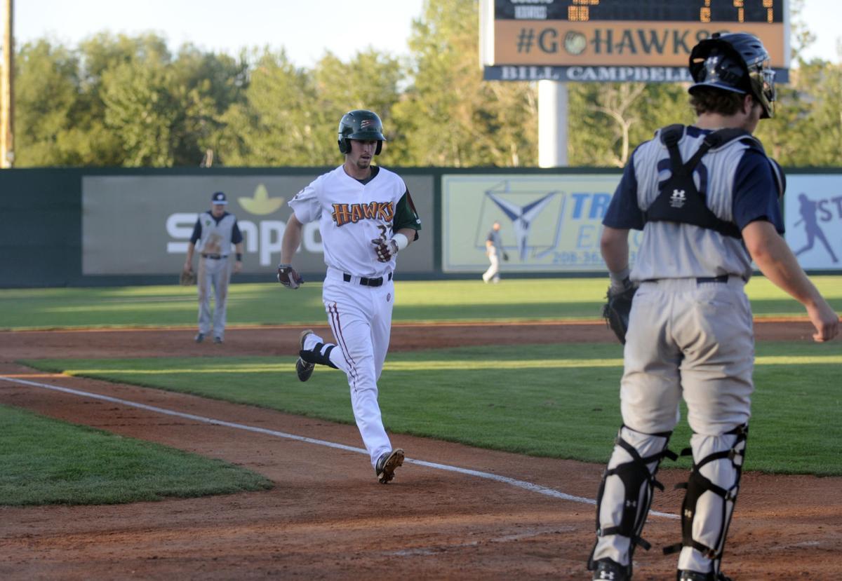 Boise Hawks Hillsboro Hops Baseball