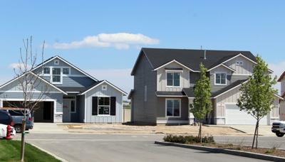 Newly constructed houses