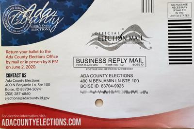 Ada County elections envelope