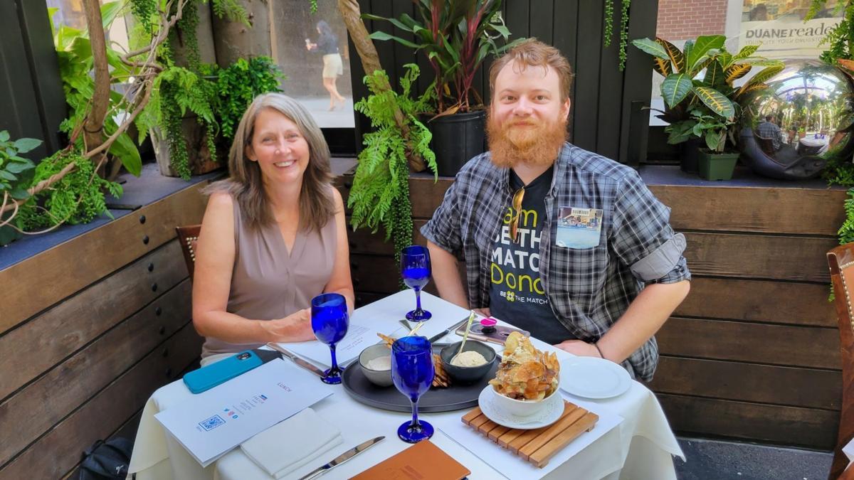 Be like Gage: Boise man donated life-saving stem cells to stranger in Washington