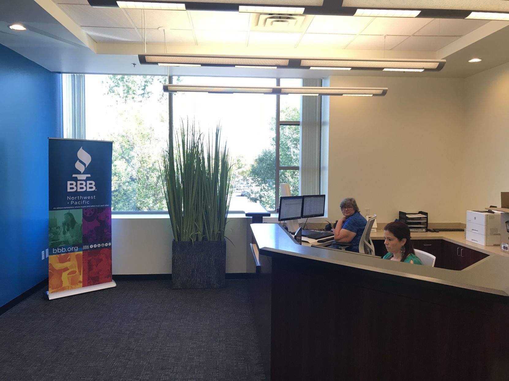 Better business bureau support headquarters relocates to boise