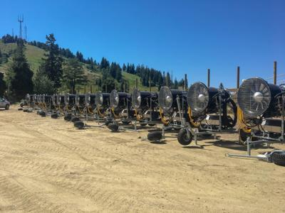Bogus Basin opens with man-made snow
