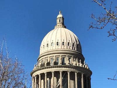 Idaho Capitol dome 3-19-19