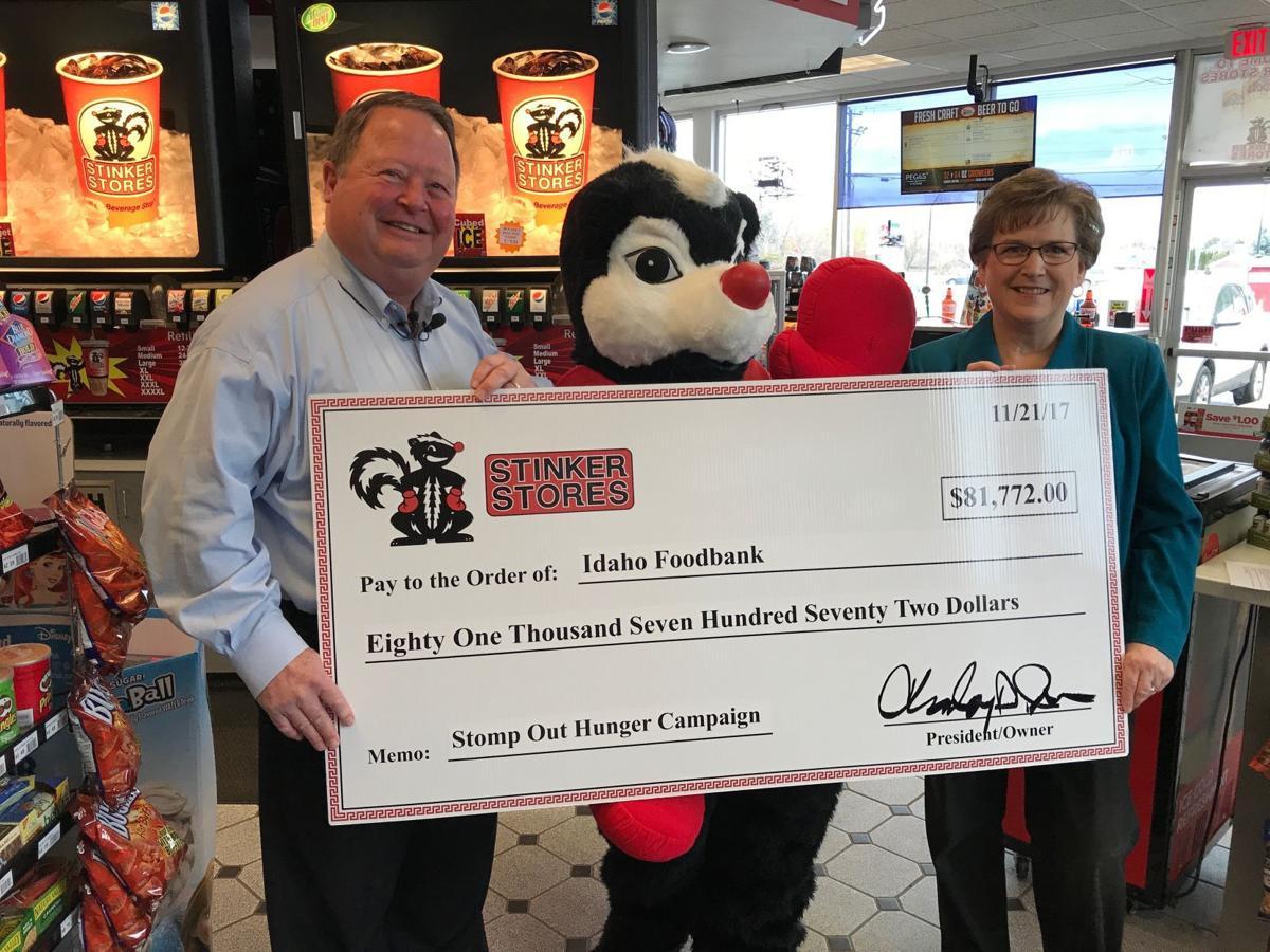 Stinker Stores donates to Idaho Foodbank