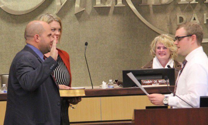Luke Cavener announces Meridian Council re-election campaign