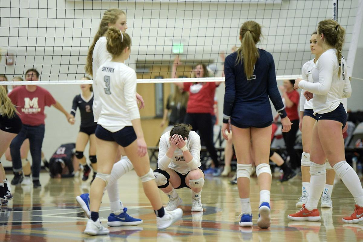 Skyview vs Madison Volleyball