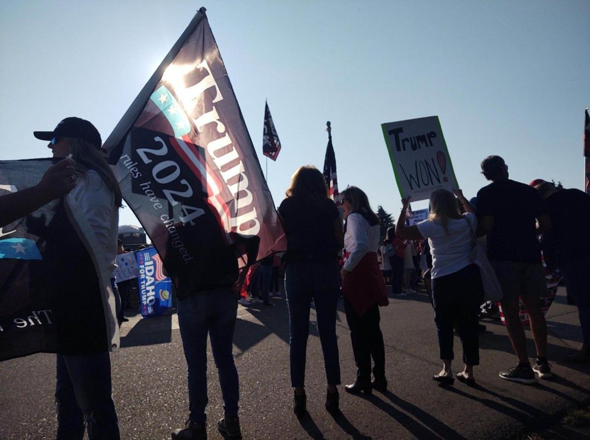 Biden NIFC protest