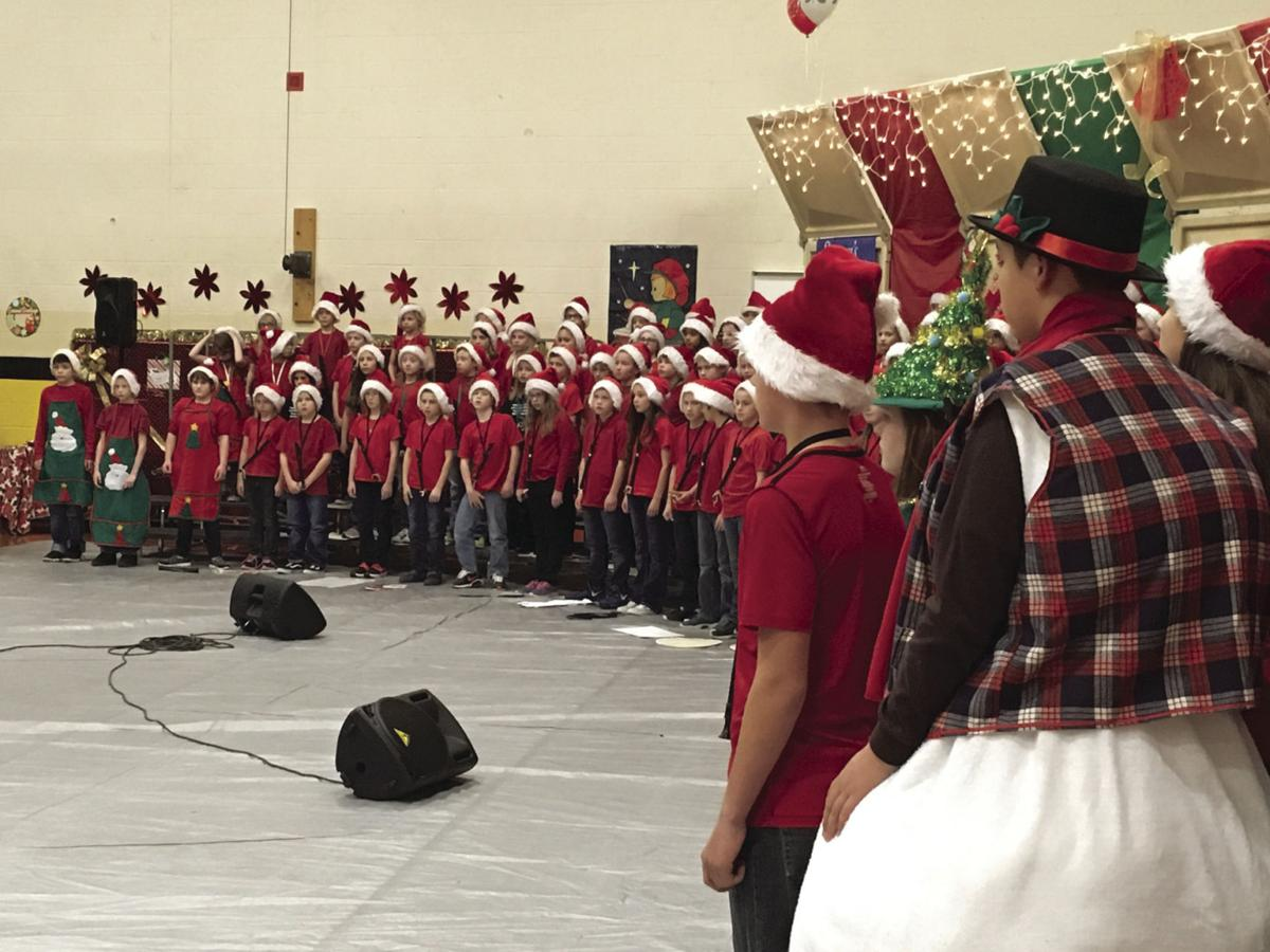 Teed students perform Christmas concert