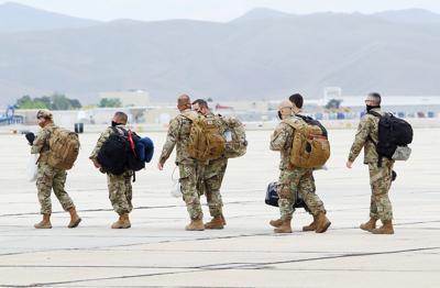 Idaho Air Guard deployment (copy)