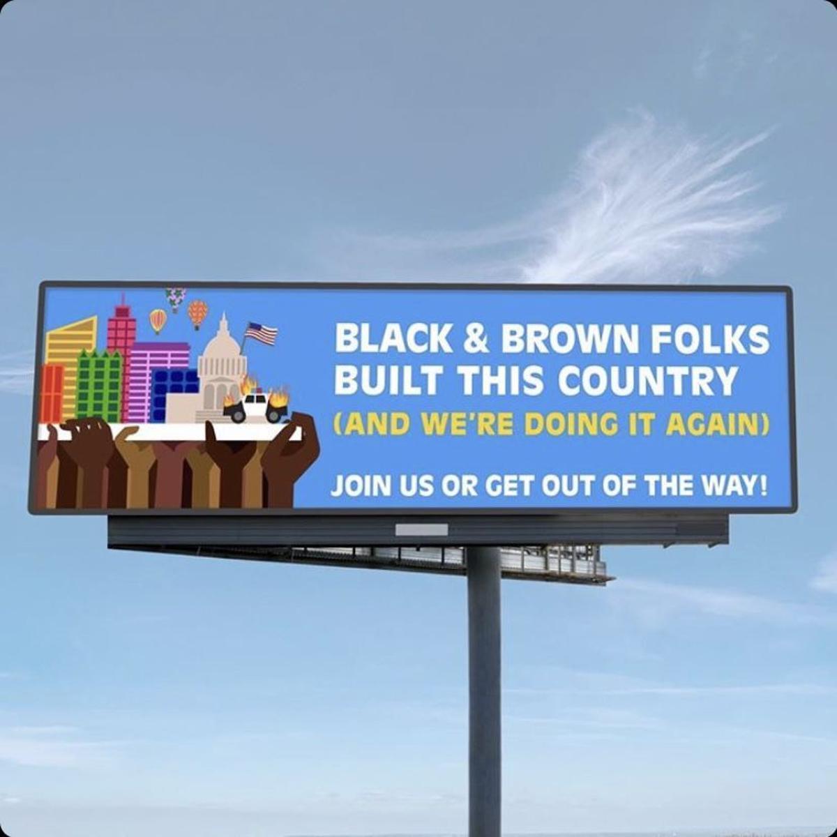 Updated Citing Internal Error Lamar Removes Provocative Boise Billboard Citizen Idahopress Com