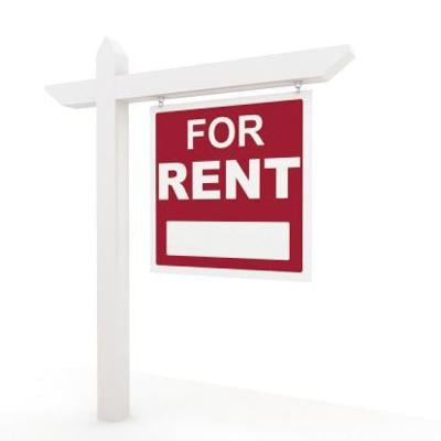 For rent sign.psd
