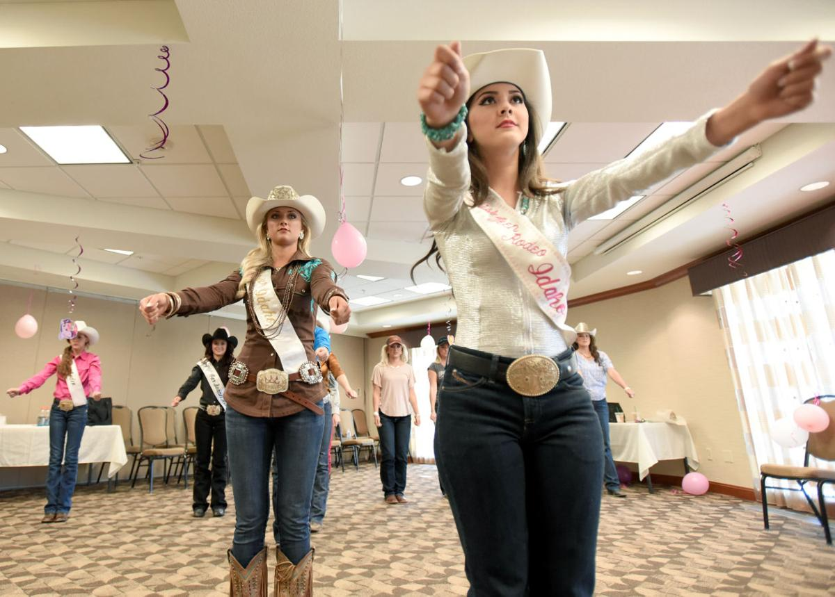 Heather Skovgard Competes To Become Miss Rodeo Idaho