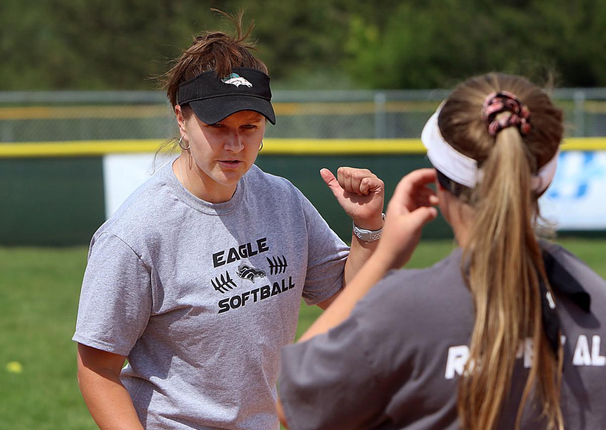Eagle Head Softball coach
