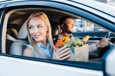 Drive-thru food