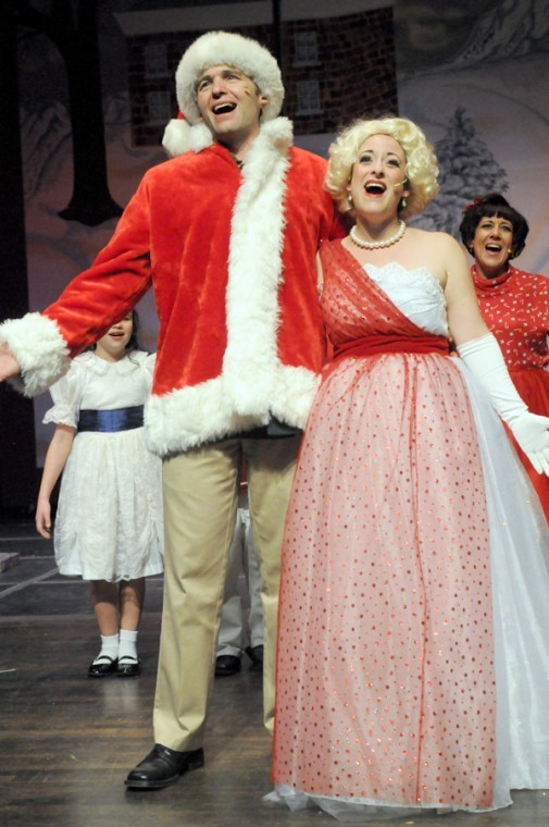 The Cast Of White Christmas.Unwrap A White Christmas This Weekend Arts