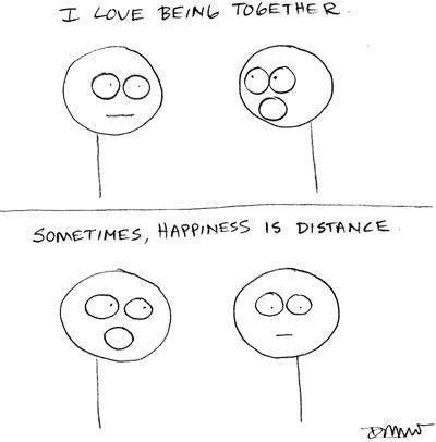 """I love being together."""