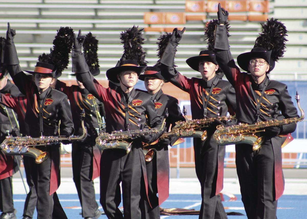 Columbia High School performs at Mel Shelton DIII Marching Band Competition