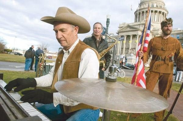 Idaho Tea Party rallies in Boise 2