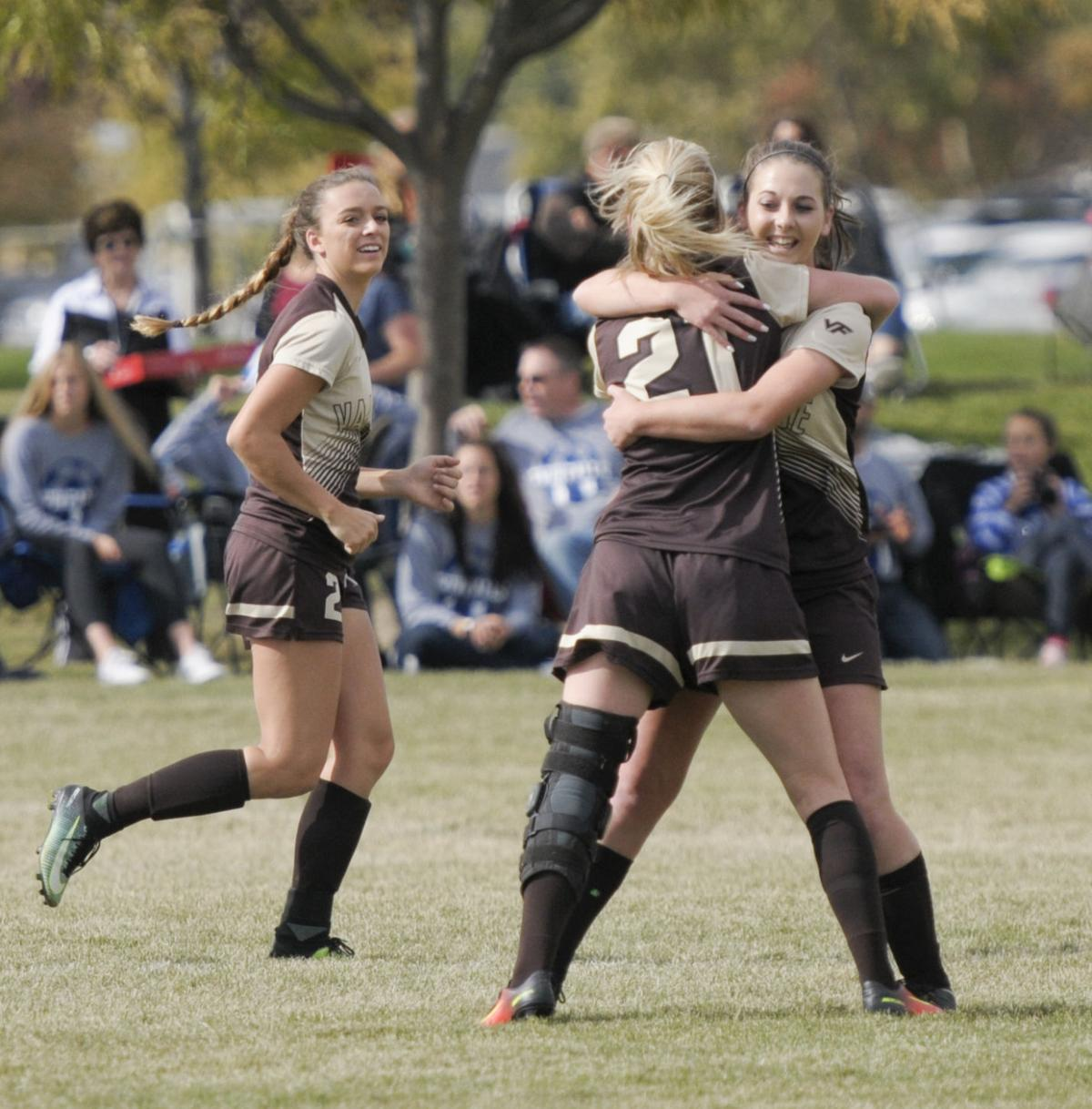 vallivue girls soccer wins  state tournament game   years high school sports coverage