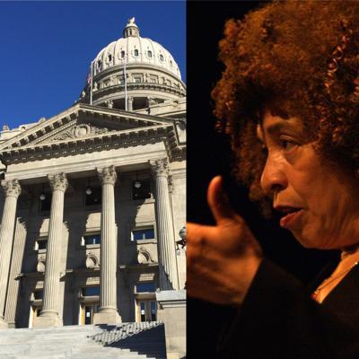 Idaho State Capitol/Angela Davis