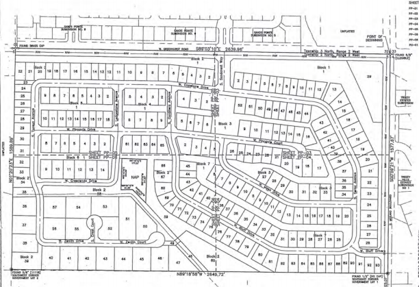 Summit Ridge Subdivision