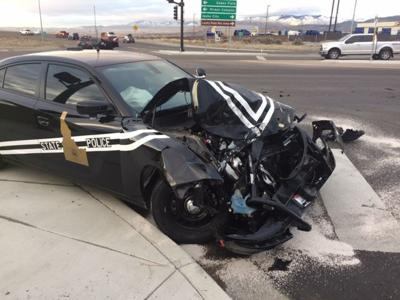 ISP trooper cited after Wednesday crash with semi in Boise | Local
