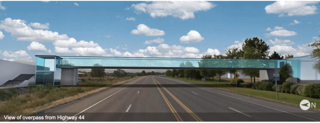state street overpass render