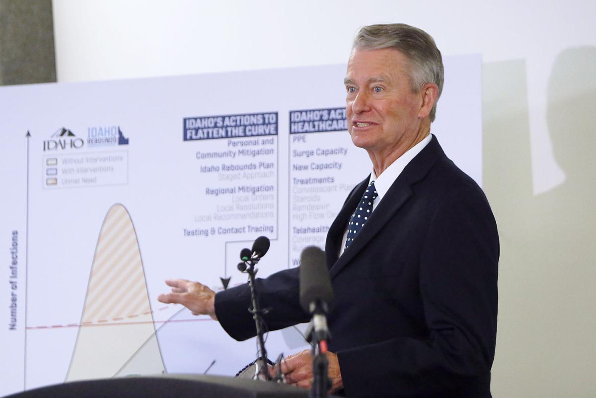 Governor says Idaho will stay in Stage 4 for at least 2 more weeks, but presses for school reopenings