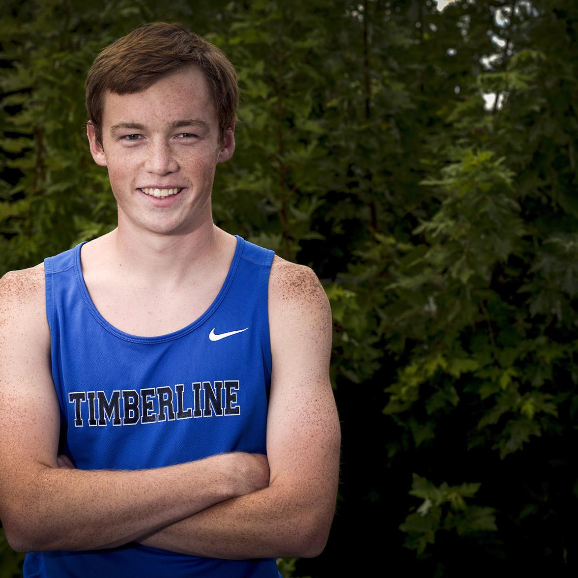 Timberline's Jacob Packwood is back running less than a year after nearly dying