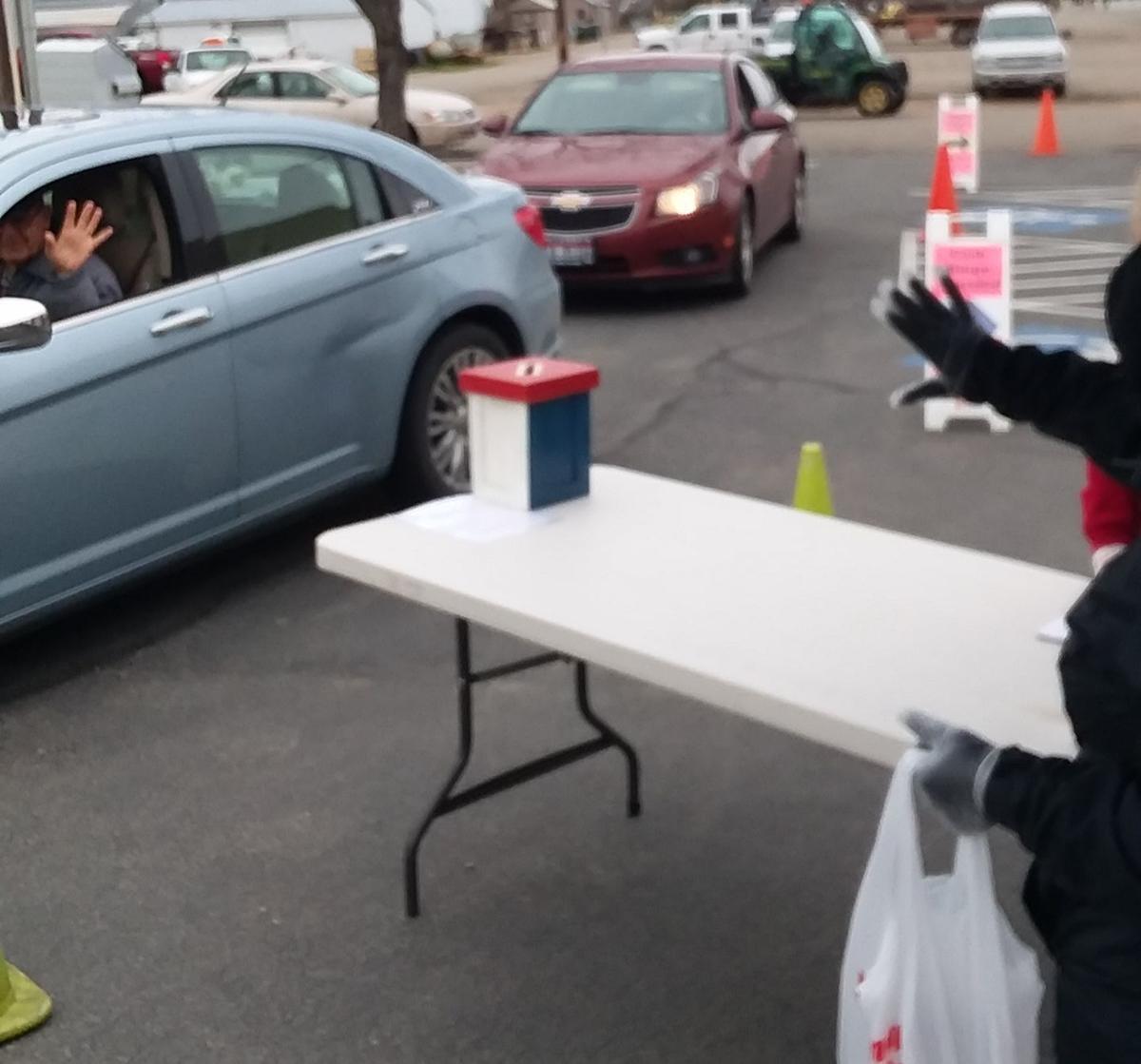 Kuna Senior Center lunch drive-thru