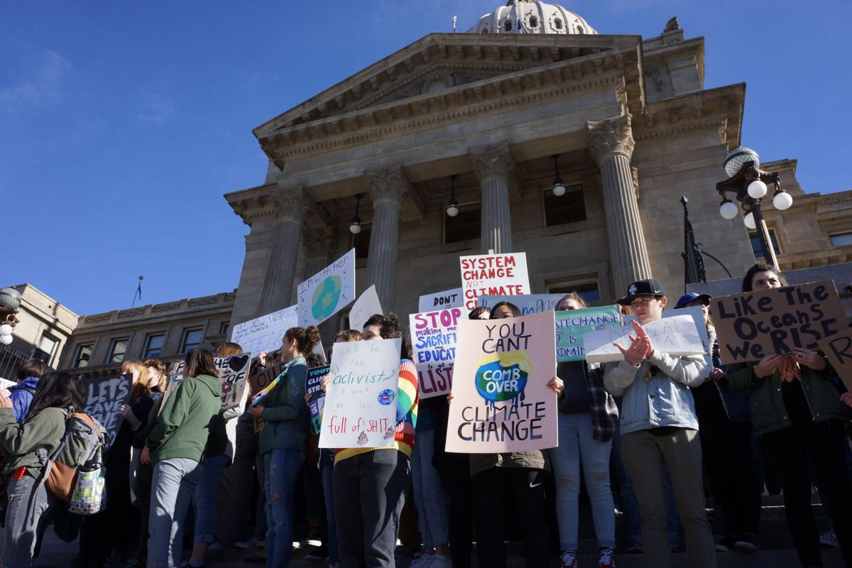 Youth Climate Rally Boise 2019