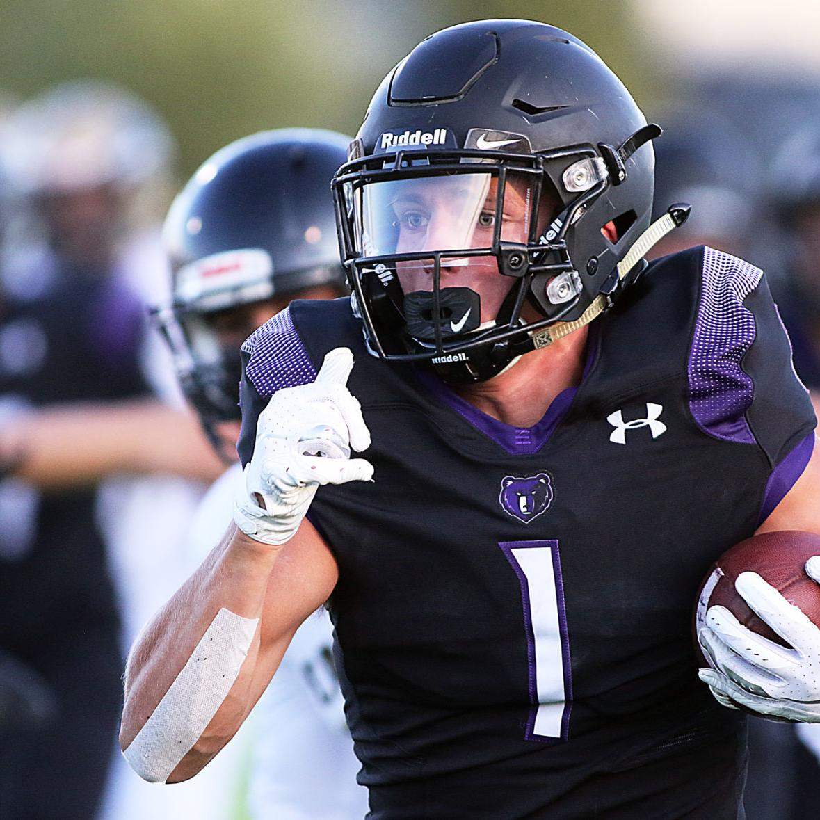 Rocky Mountain's Erickson and Fox combine for 248 yards and 4 TDs in 49-35 win over Capital