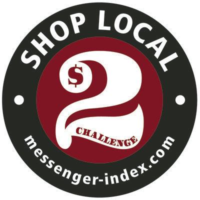 Accept the $2 Shop Local CHALLENGE!