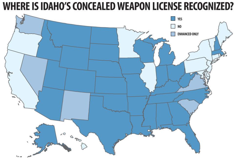 Enhanced license gaining steam in Idaho