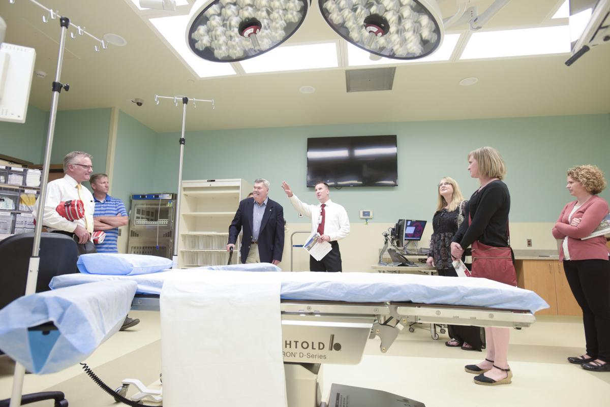Saint Alphonsus hosts open house for new Garrity hospital
