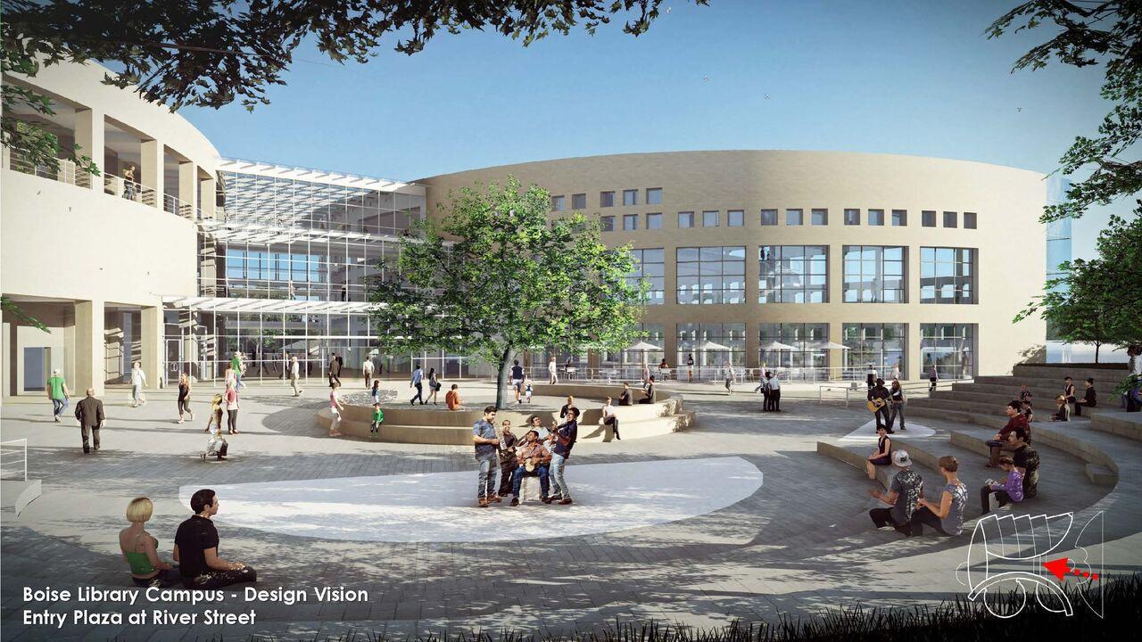 Boise's urban renewal agency proposing $15 million for main library   Idaho Press