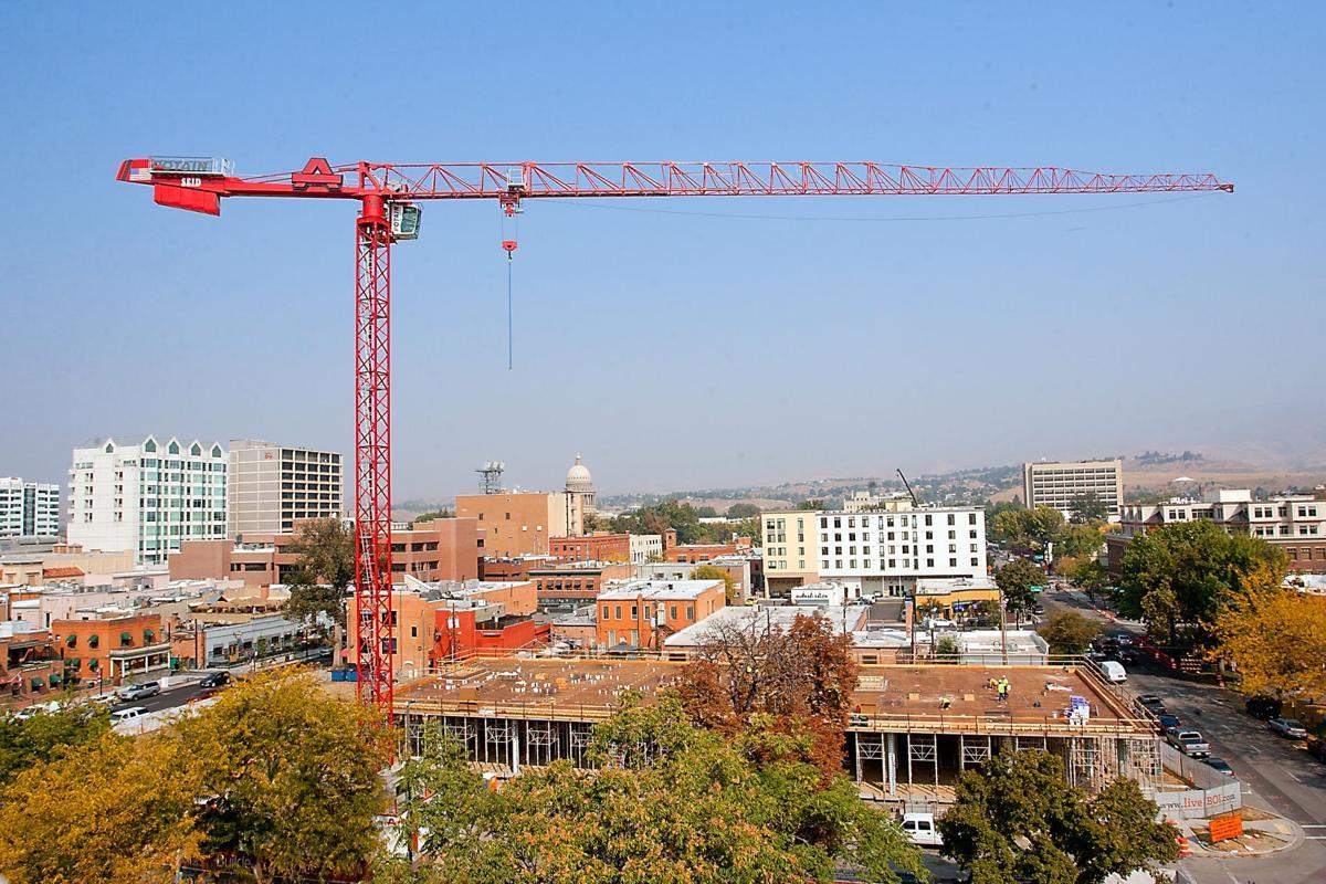 1A main -- Downtown Boise construction